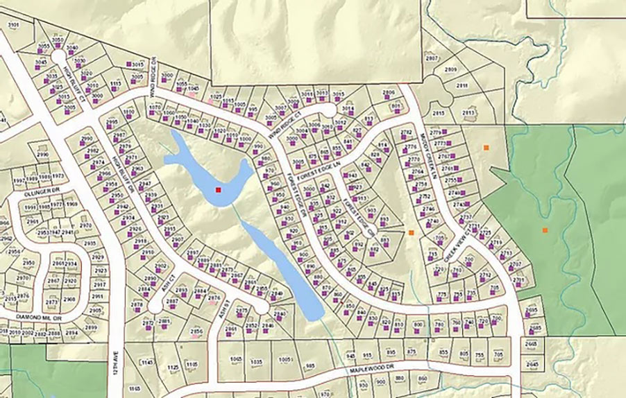 Forest-Edge-Estates-HomeOwners-Association-IA_Contact-map